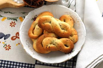 Biscottini lessi all anice - Dolci della toscana