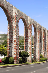 Los Arcos of Queretaro (Mexico).