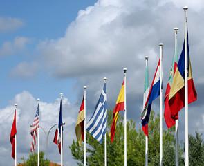 Flaggenmasten
