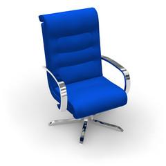 Blue stylish office chair