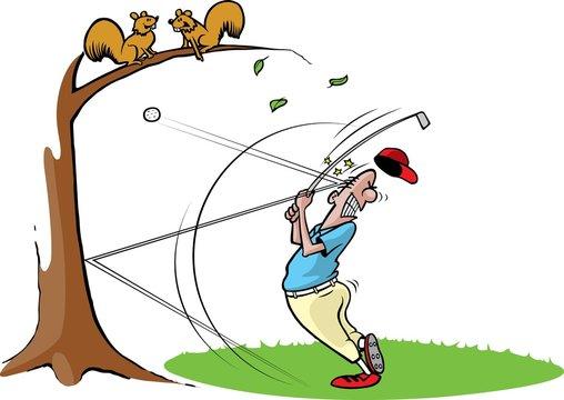Goofy Golfer 2