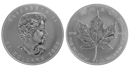 Canadian Maple Leaf Palladium