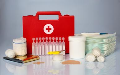 secours pharmacie pansement blessé intervention médical soin ass