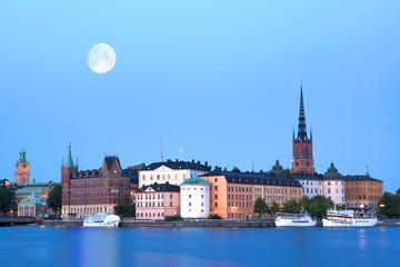 Evening Stockholm.