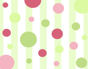 Polk-A-Dot Celebration Background
