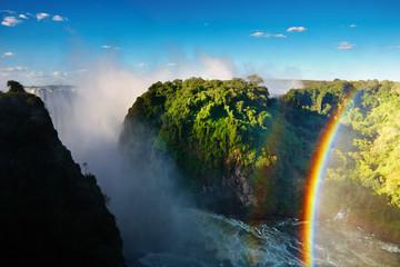 Zambezi river and Victoria Falls, Zimbabwe