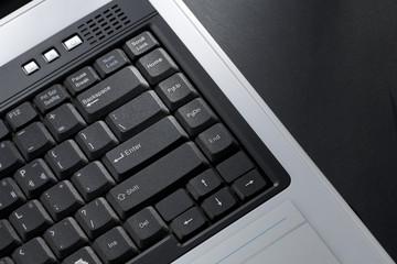 keypad of laptop