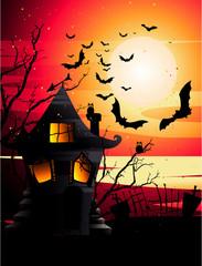 Halloween Vector Composition