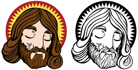 Jesus Face Set