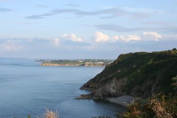 Küste der Normandie