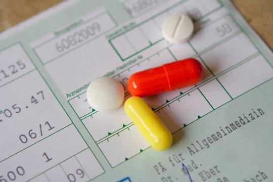 Medikamente auf Rezept