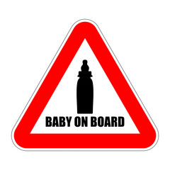 zeichen baby on board II