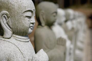 Buddhas In A Row