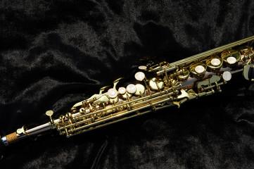 Foto op Canvas Muziek sax ottone