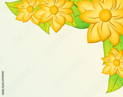 marco con flores amarillas stock photo and royalty free images on