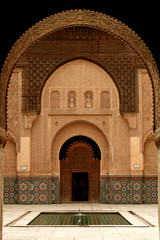 Doorway and arches in Morocco