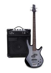 Bassgitarre und Bassverstärker