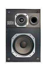 Two way hifi audio speaker, isolated