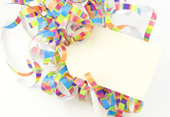 Ribbons With Tag