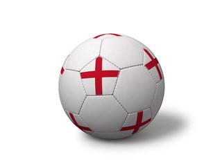 English soccer ball