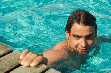 Süßer Schwimmer