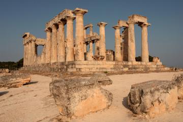 The sanctuary of Aphaia at Aegina island, Greece