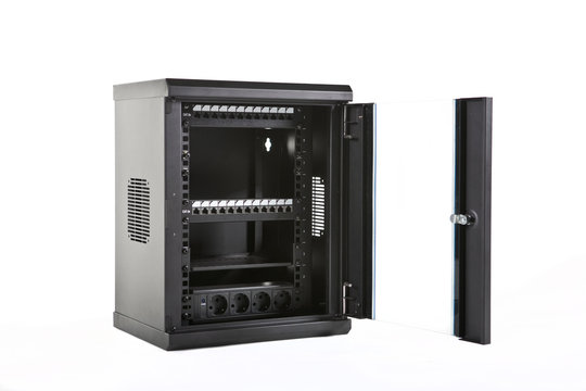 Wall mounted cabinet system