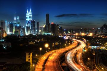 Zelfklevend Fotobehang Kuala Lumpur Kuala Lumpur.