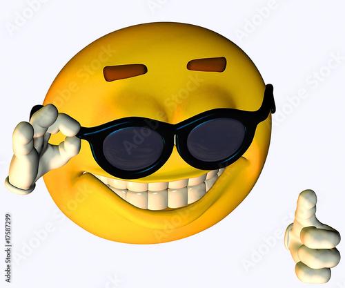 """""""Daumen hoch Smiley"""" Stockfotos und lizenzfreie Bilder auf ..."""