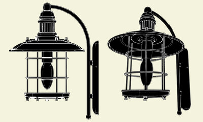 Lamp Vector 02