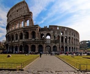 Poster Rome Colosseum in Rome