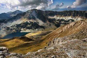 Bulgarian lake in the mountain pirin