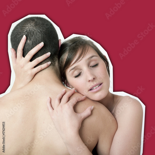 """Couple Nu couple nu enlacé pardon"""" stock photo and royalty-free images on"""