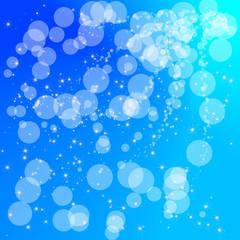 aqua blue circle background