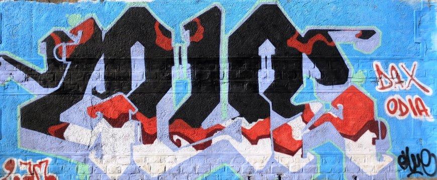 Milan, urban graffiti