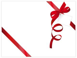 cadeau, ruban rouge , présent
