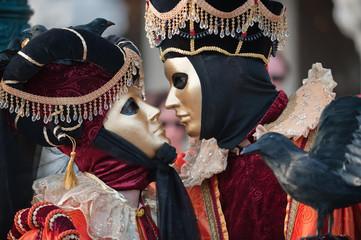 Carnival kiss