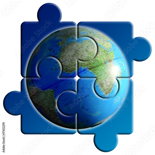 03601ac8b0d puzzle globe terrestre