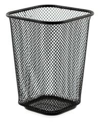 poubelle métal vide-poche bureau