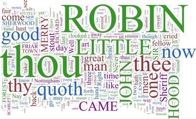Word Cloud - Robin Hood