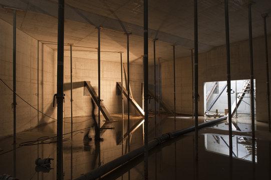 Neubau Baustelle Untergeschoss
