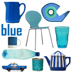 blue, bleu