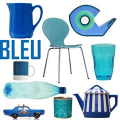 bleu, blue