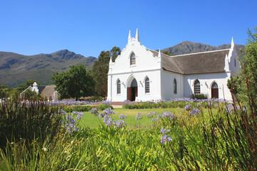 Franschhoek bei Kapstadt, Südafrika