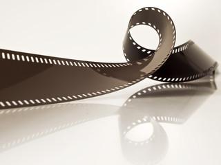 unbelichteter Filmstreifen