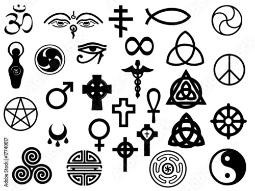 Sacred Healing Symbols Stock Image And Royalty Free Vector Files On