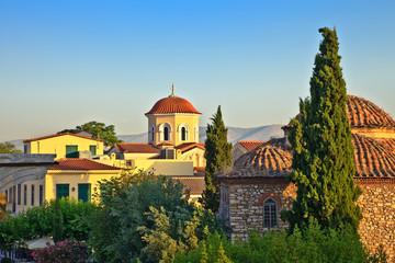 Church in Plaka area, Athens, Greece, 2009..
