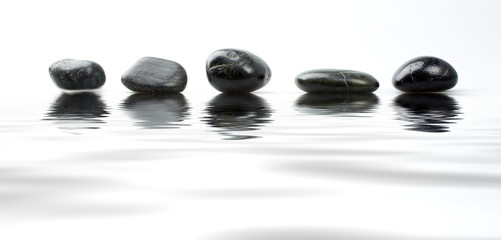 stones and ripple
