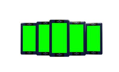 Multimedia devices green screen