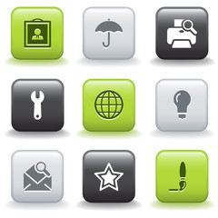 Icons with buttons 9